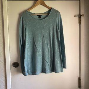 Gap Blue Knit Top Size L